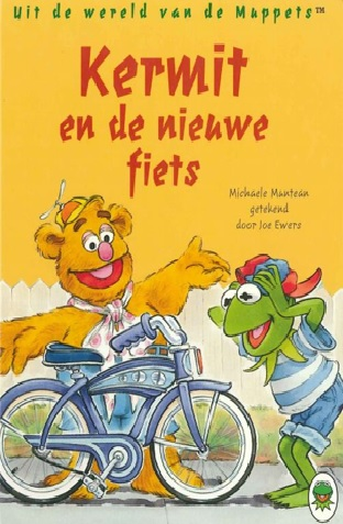 Kermit en de nieuwe fiets