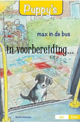 Puppys - max in de bus