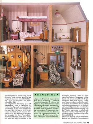 Een poppenhuis van restmateriaal 2